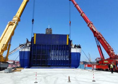 Sollevamento per nave Norman Atlantic