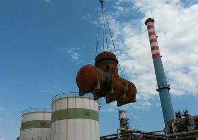 Trasporto e Manutenzione in Impianti Petrolchimici