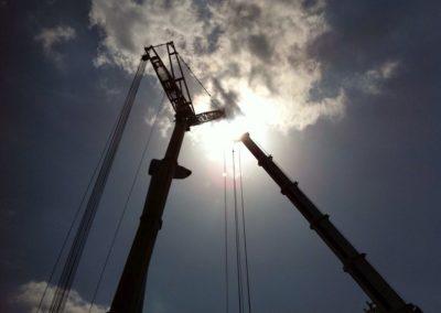 Trasporto e manutenzione impianti eolici